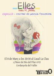 Elles_recital poesia femenina i expo_8 març