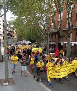 #EducacióEnMarxa 29 Agost al seu pas per Cerdanyola Foto: @USTECSTEs
