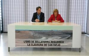 Roda de premsa clausura abocador Bellaterra_