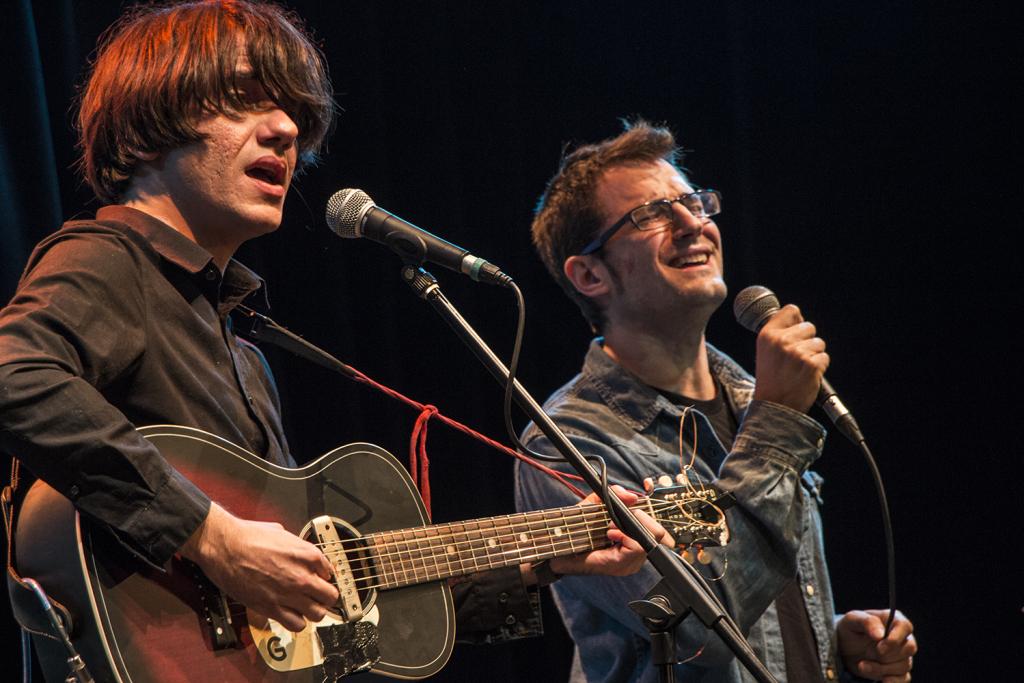 Joan Colomo i Guillem Roma van actuar dissabte a la festa final del festival