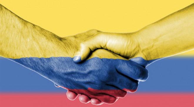 Expressa't: Sí a la pau a Colòmbia