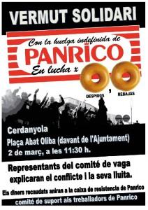 Cartel Panrico