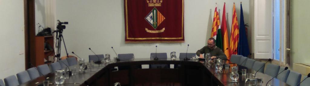 Maurici Jaumandreu, regidor de l'àrea d'economia.