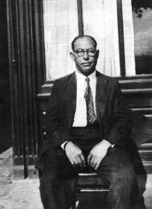 Josep Soler a l'exili a França l'any 1946