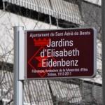 Memòria Històrica: Placa commemorativa als carrers de Sant Adrià de Besòs