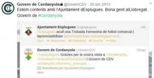 Alguns Ajuntaments van confondre el compte satíric amb el real.