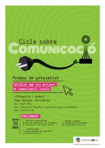 Cartel Comunicació 2204