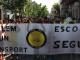 Les famílies de l'Escola Bellaterra es mobilitzen per un transport escolar segur