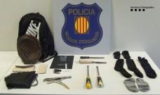 Detingut un grup de lladres que robaven en pisos del Vallès Occidental i es feien passar per menors per minimitzar l'acció penal