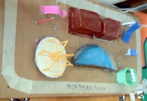Maqueta d'uns dels projectes