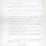 Programa de l'acte. Arxiu Albert Lázaro.