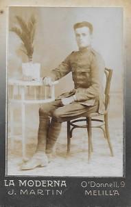 Fermí Custó a la Guerra d'Àfrica (1923-24) Arxiu Família Pla Custó