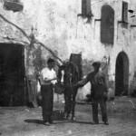 Foto antiga de Can Banús (dècada de 1910-1920)
