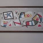 Reproducció del logo de la Caixa de l'obra de Joan Miró (Arxiu Pla)