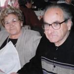 Una de les últimes fotografies de Josep Gabarra. Al seu costat, la seva esposa Carme Brosa (Arxiu Gabarra)