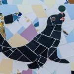Detall d'una foca (Arxiu Lázaro).  Imatge Tito Vera.