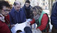 La PAH porta al carrer la seva proposta de llei de l'habitatge estatal per reclamar al PP que no la veti