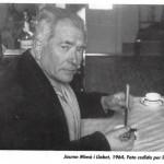 Una de les últimes fotografies de Jaume Mimó