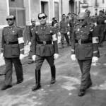 Creu Roja de Cerdanyola-Ripollet. A l'esquerra, Miquel Morral Monteys (Arxiu Morral Masià).