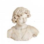 Bust de terracota del David de Verrocchio (Col·lecció Albert Lázaro).