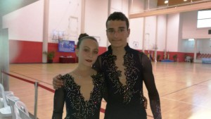 Pol López y Marta Jiménez