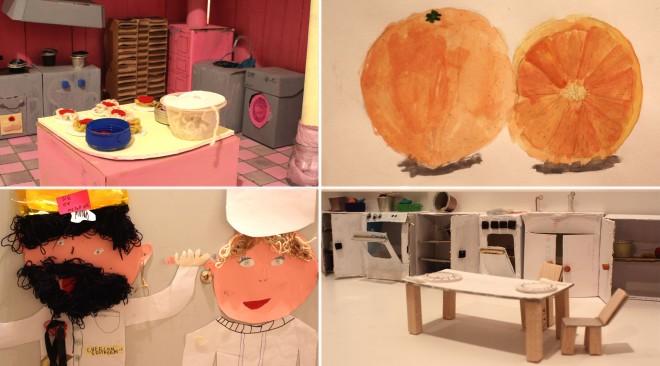 L'Alumnat de plàstica infantil de l'Escola d'Arts de l'Ateneu mostra els seus treballs