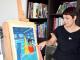 L'artista Olga Molina signa el cartell dels 30 anys del Festival Internacional de Blues de Cerdanyola