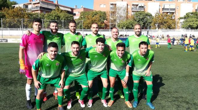 El Cerdanyola FC suma un punt a Castelldefels