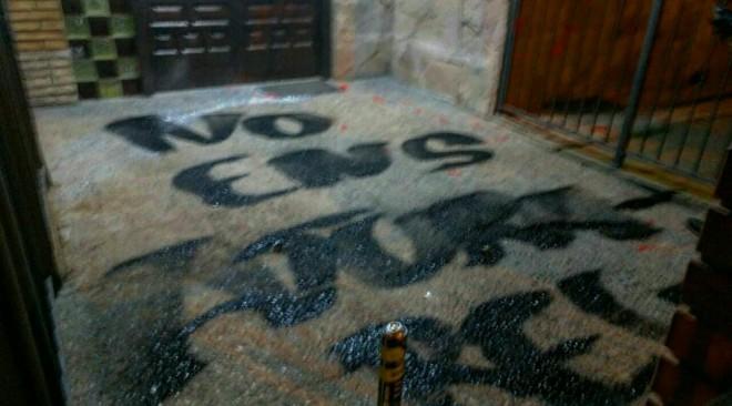 La Forja deixa un missatge a la comissaria de la Policia Nacional