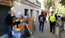 Es compleix un any de l'ocupació de l'Ajuntament per denunciar la manca de solucions de Compromís als desnonaments